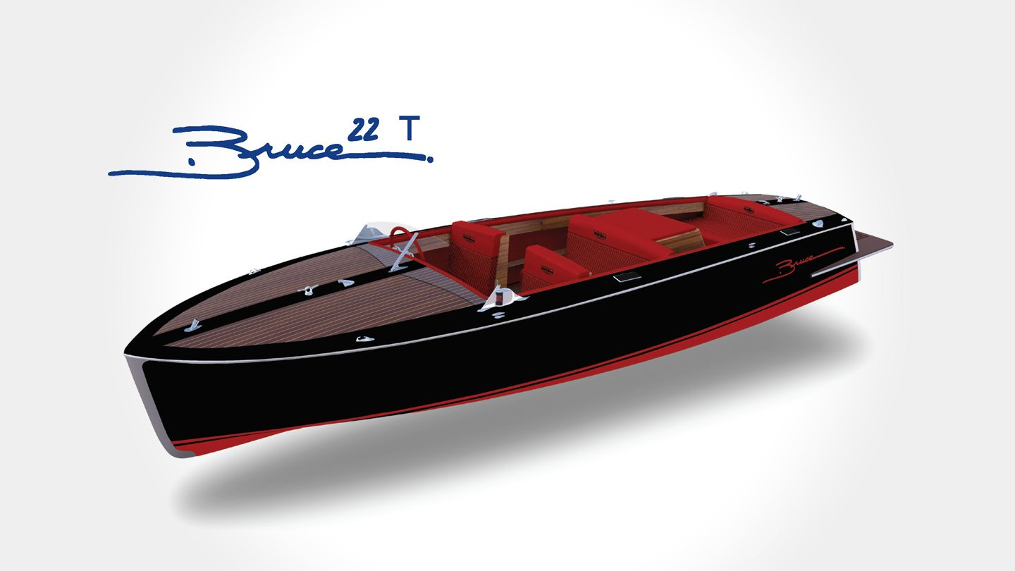 Bruce 22 T by Canadian Electric Boat Company