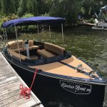 Electric Boat for Sale Fantail 217