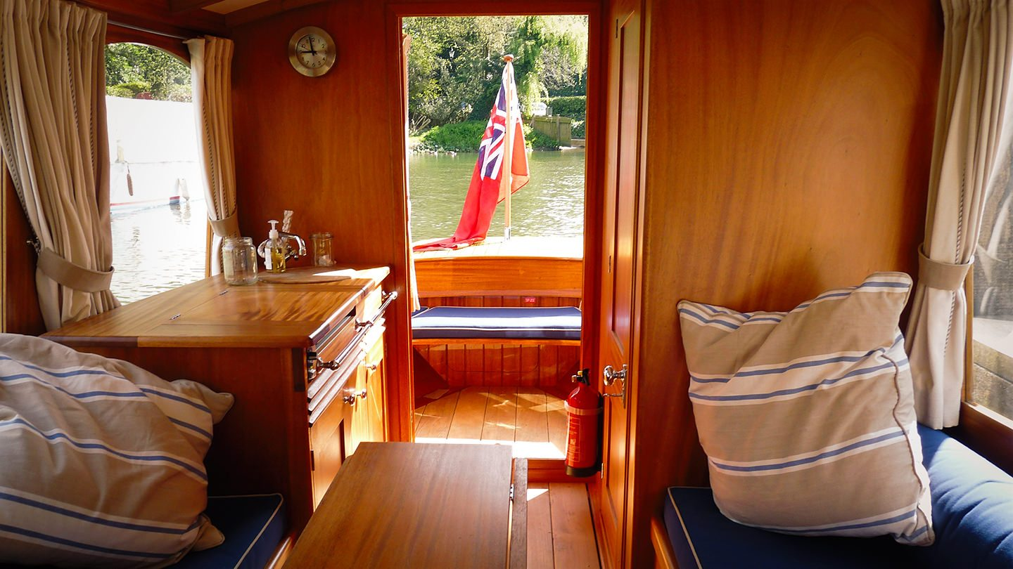 The FROLIC 31 Electric Boat Sales UK
