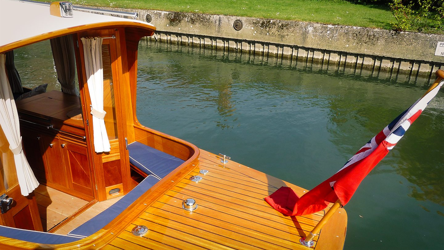The FROLIC 31 Electric Boating Norfolk Broads