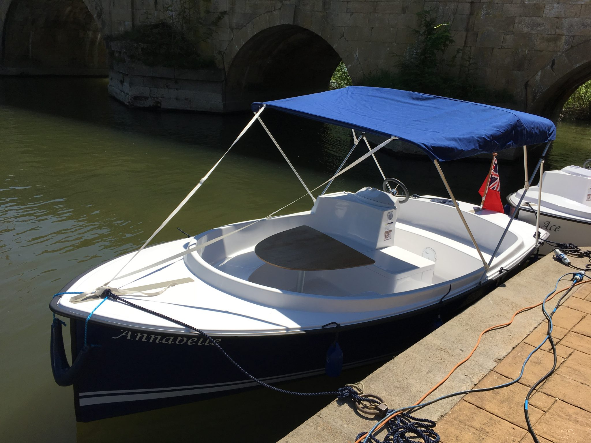 Electric Boating - Scoop from Ruban Bleu
