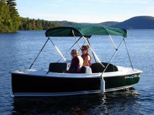 Great entry level hire boat seating 5