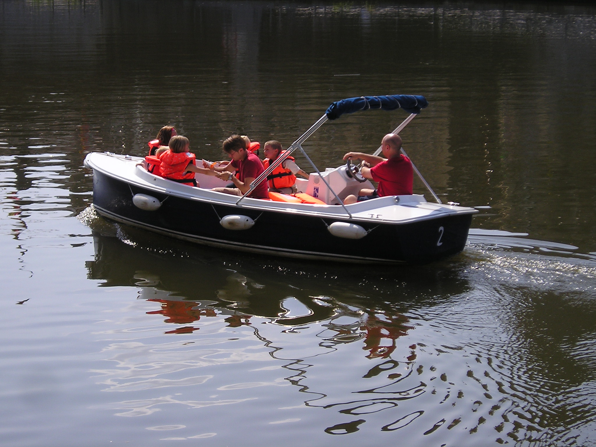 The Most an 11 seater electric boat Norfolk broads
